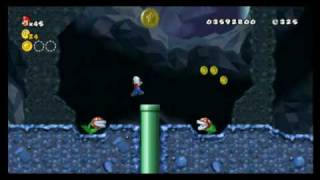 New Super Mario Bros. Wii - Star Coin Location Guide - World 6-2 | WikiGameGuides