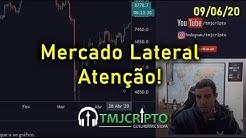 Análise Bitcoin - BTC - 09/06/2020 - Mercado Lateral. Atenção.