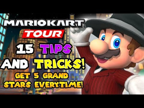 15 Mario Kart Tour Tips AND Tricks! Fix The Controls, Shortcuts, And More!