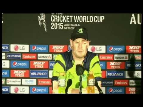 Live Post Match Press Conference : IRELAND VS UNITED ARAB EMIRATES