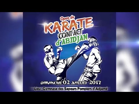 COCODY TV, Open de Karaté Contact d'Abidjan 2017