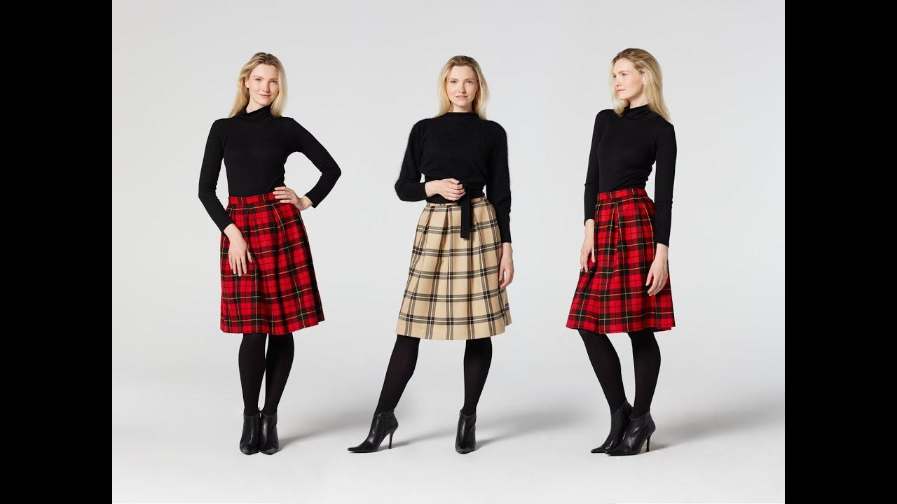 49722aeeaf How to Make a Pleated Skirt | Teach Me Fashion - YouTube
