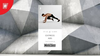 EXPRESS ABS с Тимуром Шамиловым 7 мая 2021 Онлайн тренировки World Class