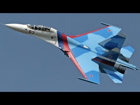 Russian supermaneuverable fighter aircraft Su-30/Ruski super-pokretan borbeni avion Su-30