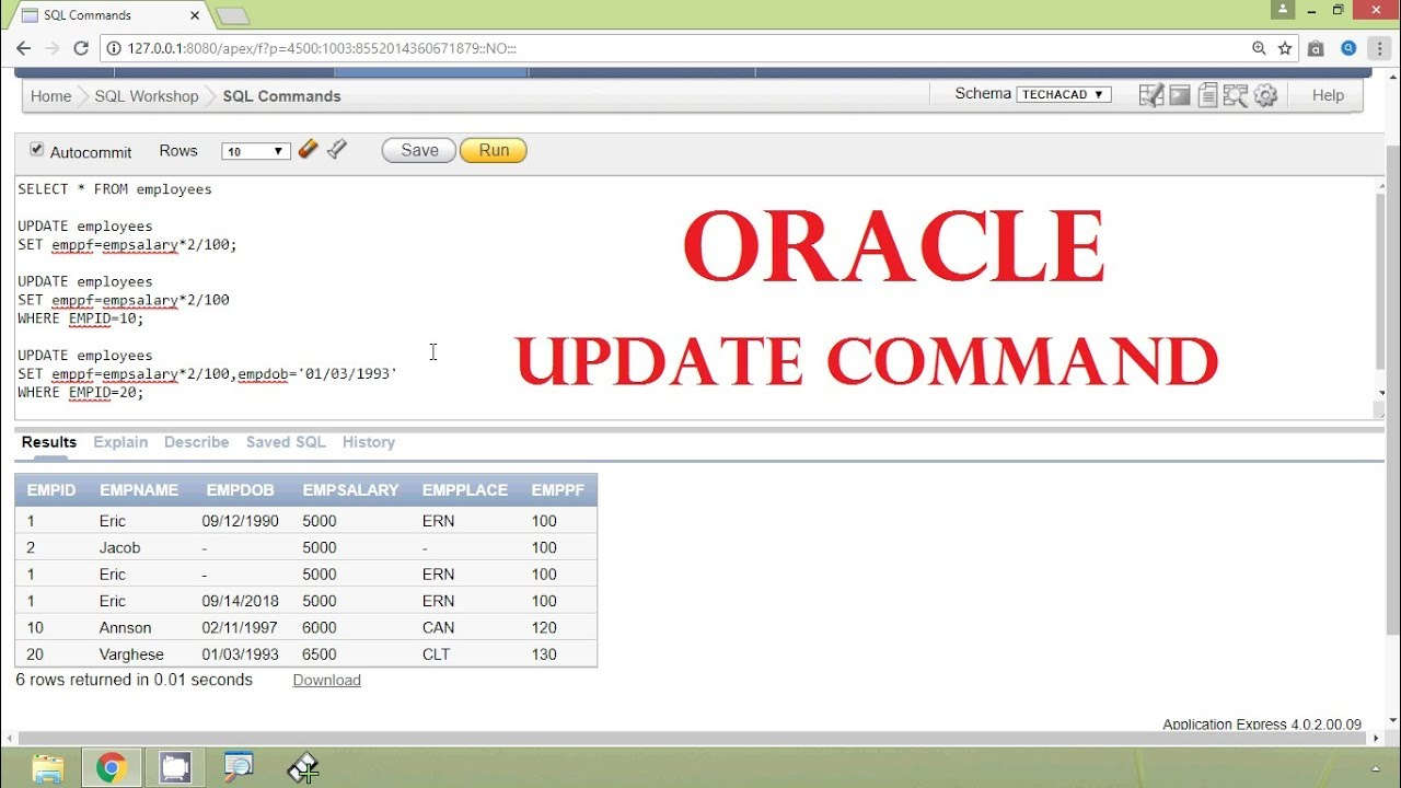 Updating a view in oracle list of all online dating sites