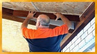 видео Потолок из досок своими руками: обустройство