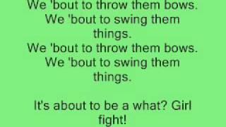 Brooke Valentine- Girl Fight lyrics