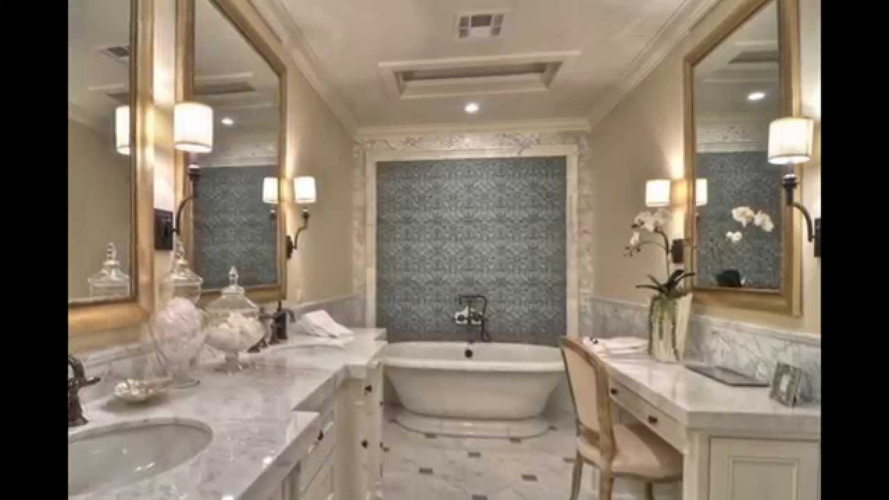 Bathroom Wall Sconces | Contemporary Bathroom Wall Sconces - YouTube