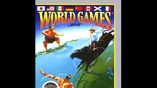 Rigidon (S01,G01) - World Games (NES)
