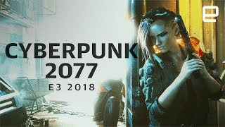 Cyberpunk 2077 Interview at E3 2018