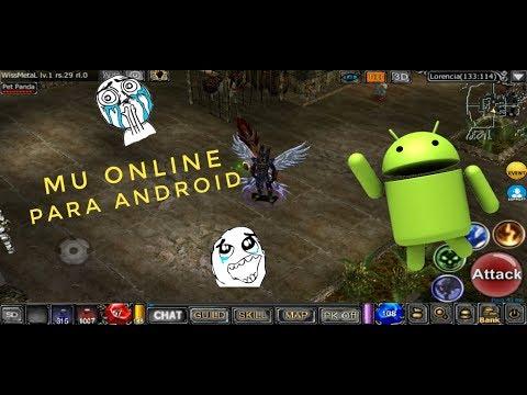 Mu Online  Para Android descarga APK + GamePlay