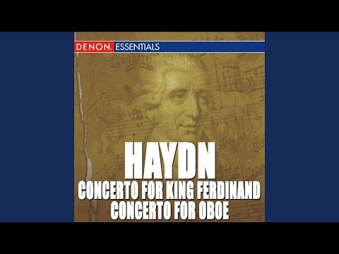 Concerto no. 3 for king ferdinand iv of napoli in g major
