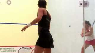 US Open 2012 Squash 1-Duncalf (England) v. Grinham (AUS), Game 1 video by Sarah Cortes