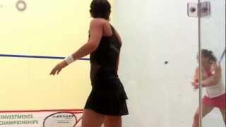 US Open 2012 Squash 1-Duncalf (England) v. Grinham (AUS), Game 1 video by Sarah Cortes
