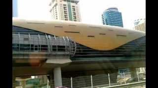 Gökdelenler şehri Dubai'nin Metrosu bile mimari ha