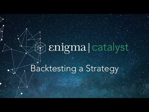 Catalyst - Backtesting A Strategy