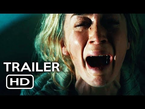 A Quiet Place   1 2018 Emily Blunt, John Krasinski Horror Movie HD