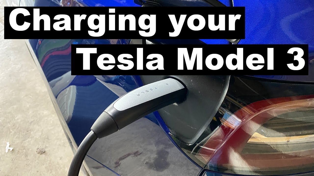 Charging a Tesla Model 3 Long range - What's included ...