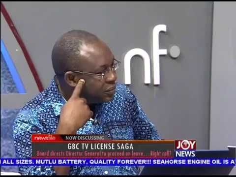 GBC TV License Saga - Newsfile on JoyNews (20-1-18)