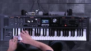 Roland V-Combo VR-09 MFX Sound Editing