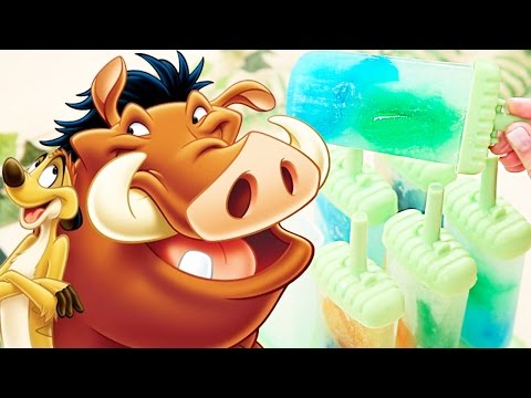Timon And Pumbaa's Buggy Popsicles   Dishes By Disney