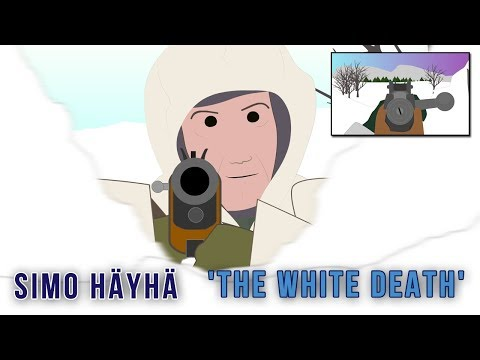 Simo Häyhä The White Death  (World's Deadliest Sniper)