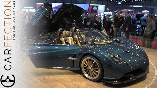 Pagani Huayra Roadster: Oh My. So Pretty. - Carfection