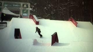 Winter Dew Tour - SNB Slopestyle Highlights, Killington 2011 - Torstein Horgmo, Eric Willett, Mark McMorris
