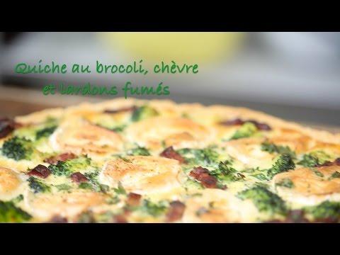 recette-quiche-au-brocoli,-chèvre-et-lardons-fumés