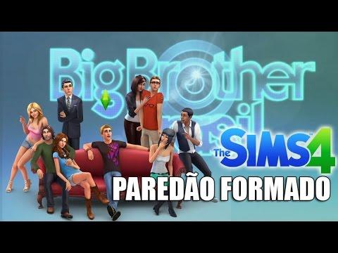 PAREDÃO FORMADO | BIG BROTHER - The Sims 4  #6