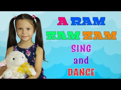 A Ram Zam Zam Mini Club Song & Dance - Nursery Rhymes & Super Simple Kids Songs & A Ram Sam Sam