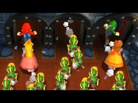 Mario Party 9 - All Survival Minigames| Cartoons Mee