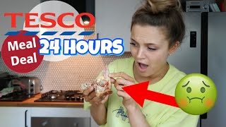 I ATE ONLY TESCO MEAL DEALS FOR 24 HOURS!