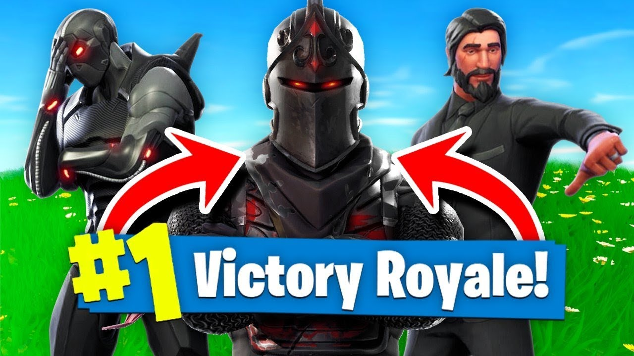 Why The Black Knight Is The Best Max Tier Skin In Fortnite Battle