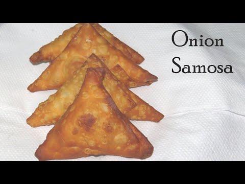 onion samosa recipe in telugu how to make crispy samosa at home teatime snack recipes kids snack epichow