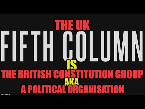 📢 UK 5th Column EXPOSED As A Political Organisation NOT Independent Journalists 📢