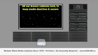 Can-am Home Theater Cabinets And Tv Stands With Cd And Dvd Storage