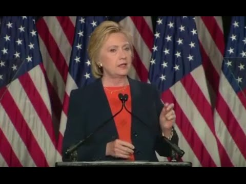 Clinton Positions Herself to the Right of Trump in Major National Security Speech