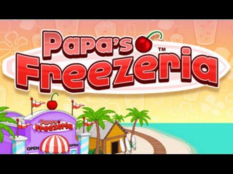 Papa's Freezeria Full Gameplay Walkthrough