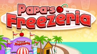 Papa's Freezeria Full Gameplay Walkthrough
