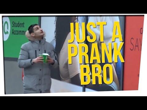 "YouTuber Upsets the Internet with His ""Pranks"" ft. Steve Greene"