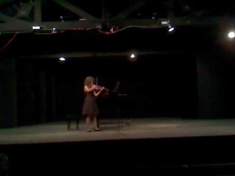 Partita No. 2 - Allemande - Bach Miranda Baker, vi...
