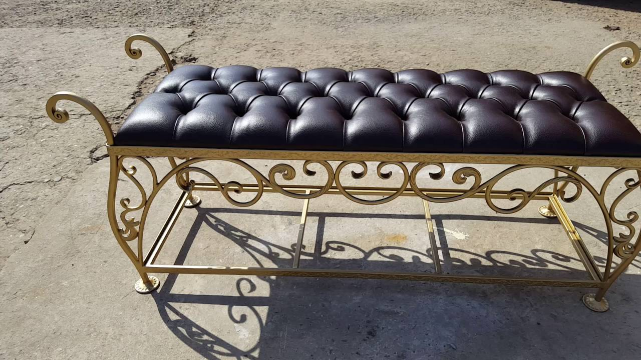 фото кованная мебель