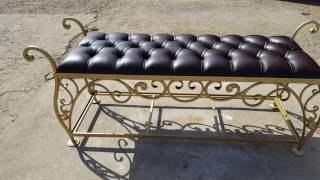 видео Кованая мебель