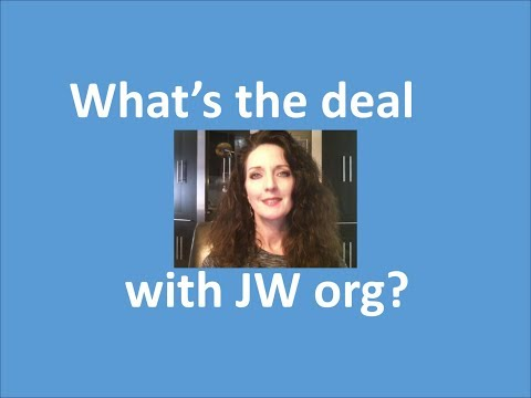 What's the deal with JW org?