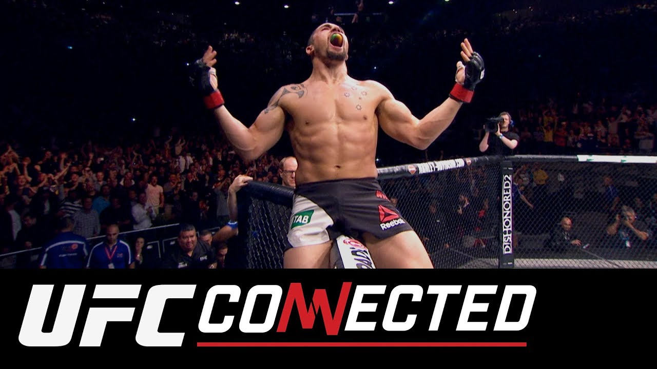 Ufc Connected Robert Whittaker Israel Adesanya Russian Prospects Youtube