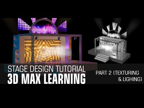 Easy to Design Concert Stage with basic tools in 3dmax Part 2 Lighting Texturing  sc 1 st  YouTube & Easy to Design Concert Stage with basic tools in 3dmax Part 2 ... azcodes.com