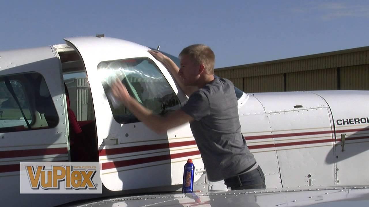 How To Clean Aircraft Windows Vuplex 174 Youtube