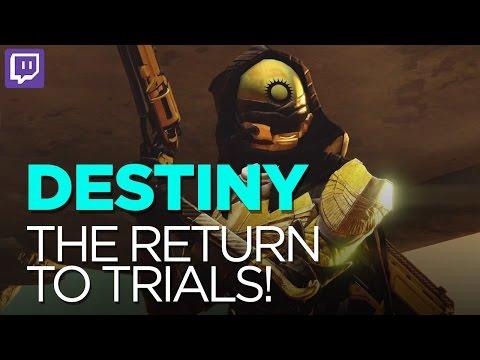 Trials Run 2/15/16 - Destiny - Let's Play (Twitch Highlight)
