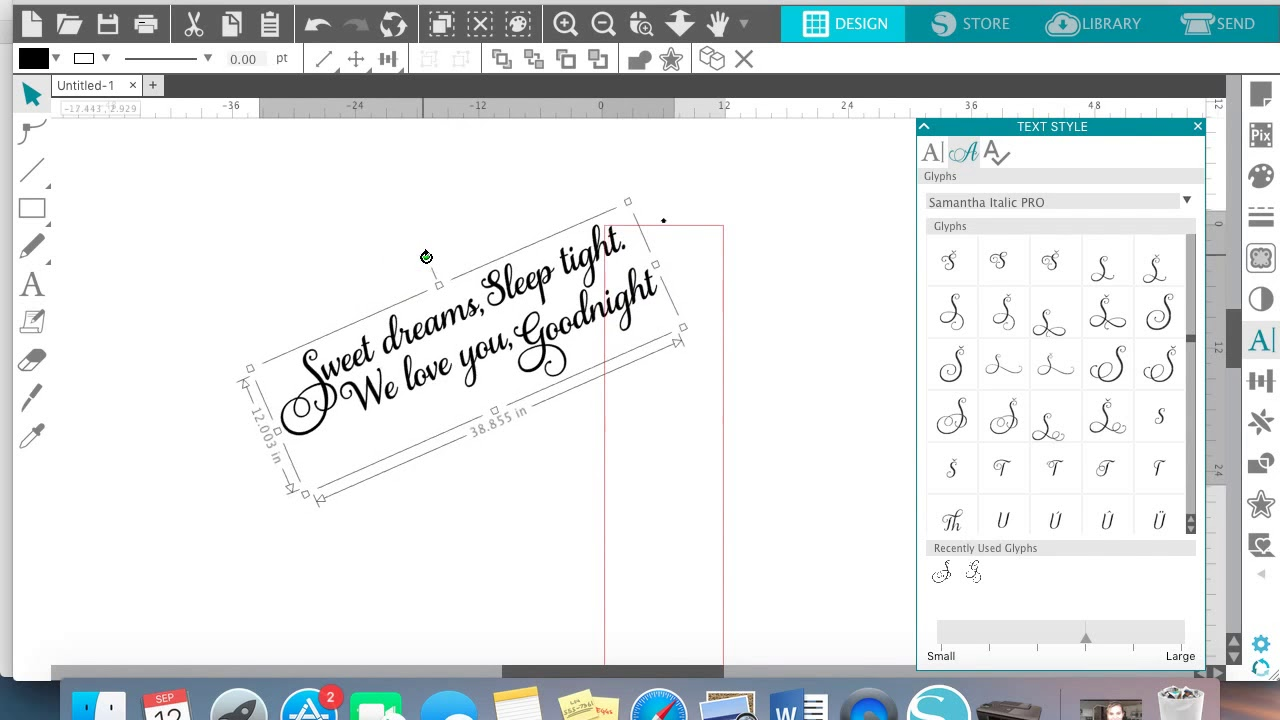 Cutting Larger Than The Mat Silhouette Cameo Tutorial Youtube